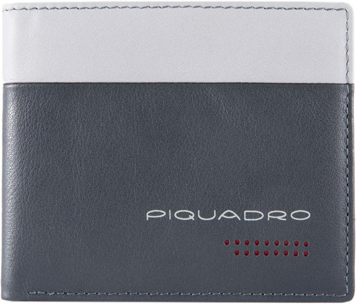 купить Кошельки бумажники и портмоне Piquadro PU4823UB00R/GRN по цене 7910 рублей
