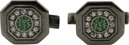Запонки Русское Золото 55090019-10-6ch