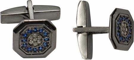 Запонки Русское Золото 55090019-16-6CH