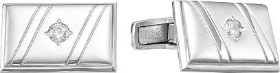 Запонки Серебро России 141016R-58624