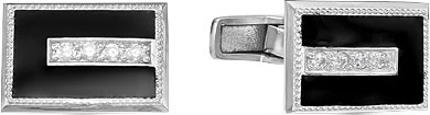 Запонки Серебро России 141024R-57596 запонки серебро россии 141025r 57603