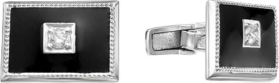 Запонки Серебро России 141025R-57603 запонки серебро россии 141025r 57603