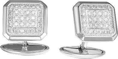 Запонки Серебро России 2011-52484 запонки серебро россии 141025r 57603