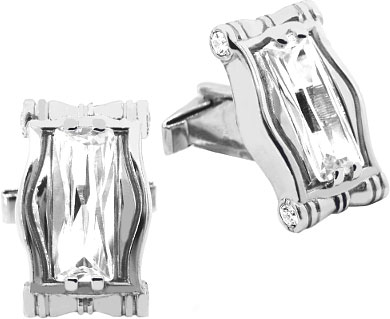 Запонки Серебро России ZP-3001-43076