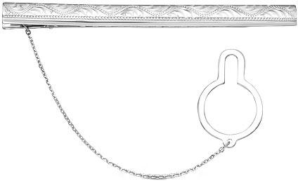 Зажимы для галстуков Серебро России ZZH-001R-57848