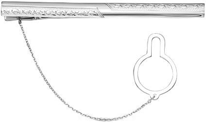 Зажимы для галстуков Серебро России ZZH-002R-57849