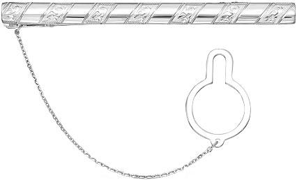 Зажимы для галстуков Серебро России ZZH-003R-57850