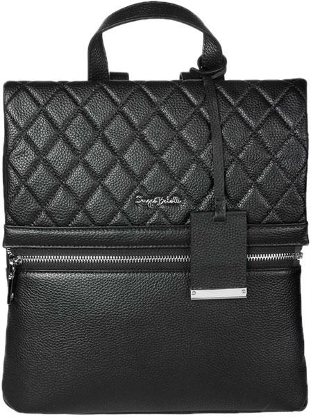 Рюкзаки Sergio Belotti 01-black рюкзаки proff рюкзак