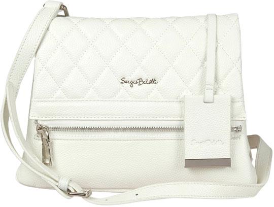 Кожаные сумки Sergio Belotti 02-white кожаные сумки sergio belotti 206 teal