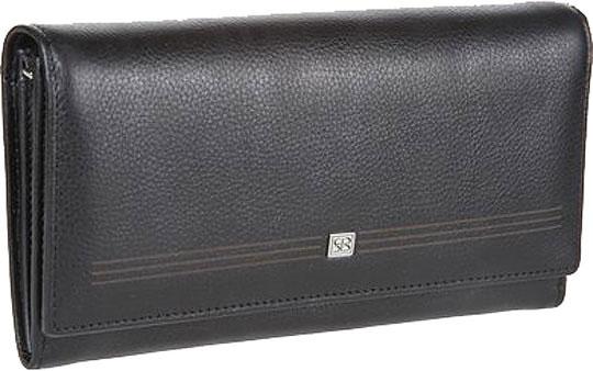 цена Кошельки бумажники и портмоне Sergio Belotti 1073-west-black онлайн в 2017 году