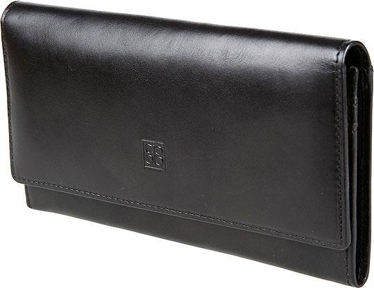 купить Кошельки бумажники и портмоне Sergio Belotti 1075-milano-black по цене 3010 рублей
