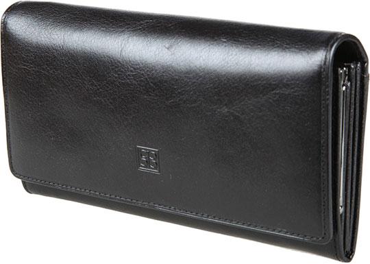 Кошельки бумажники и портмоне Sergio Belotti 1122-milano-black pink dandelion design кожа pu откидной крышки кошелек для карты держатель для samsung j5prime