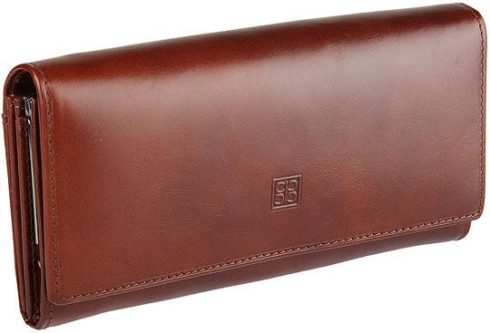 Купить со скидкой Кошельки бумажники и портмоне Sergio Belotti 1122-milano-brown