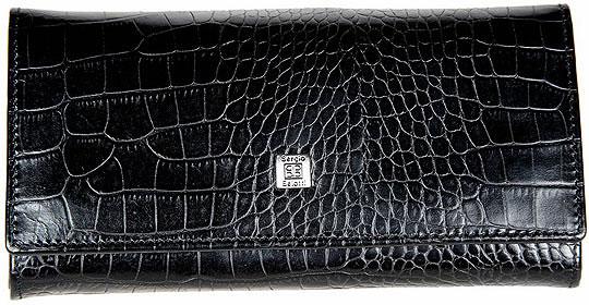 цена Кошельки бумажники и портмоне Sergio Belotti 1122-modena-black онлайн в 2017 году