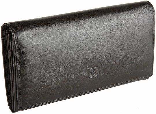 купить Кошельки бумажники и портмоне Sergio Belotti 1164-milano-black по цене 5200 рублей