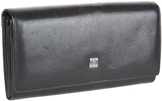 купить Кошельки бумажники и портмоне Sergio Belotti 1164-west-black по цене 4640 рублей