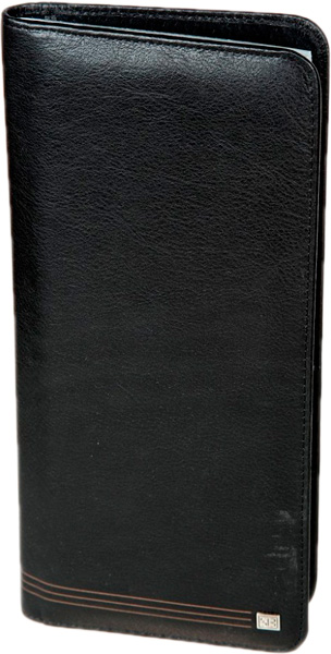 Визитницы и кредитницы Sergio Belotti 1309-west-black business card holder sergio belotti 1440 west black