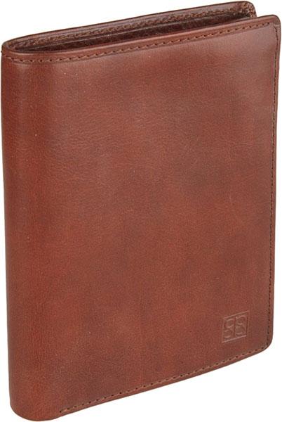Кошельки бумажники и портмоне Sergio Belotti 1422-milano-brown портфель мужской sergio belotti цвет коричневый 8740