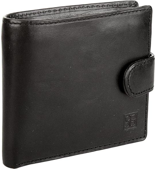 Кошельки бумажники и портмоне Sergio Belotti 1563-milano-black
