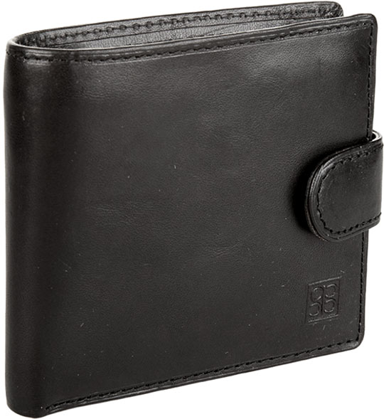 Кошельки бумажники и портмоне Sergio Belotti 1563-milano-black кошельки mano портмоне для авиабилетов