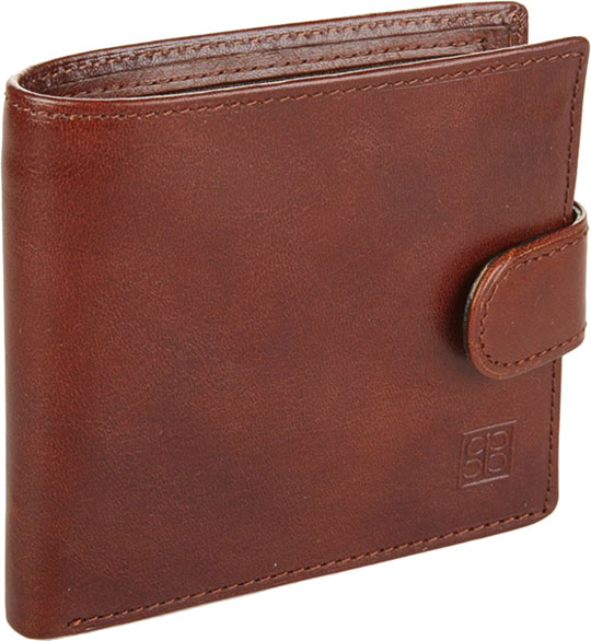 Кошельки бумажники и портмоне Sergio Belotti 1563-milano-brown