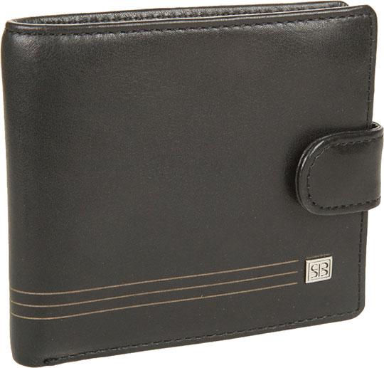 Кошельки бумажники и портмоне Sergio Belotti 1563-west-black