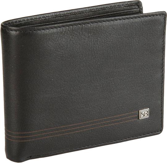 Кошельки бумажники и портмоне Sergio Belotti 1690-west-black портмоне sergio belotti sergio belotti se003bmwfm37