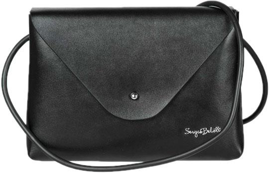 Кожаные сумки Sergio Belotti 174-black цена