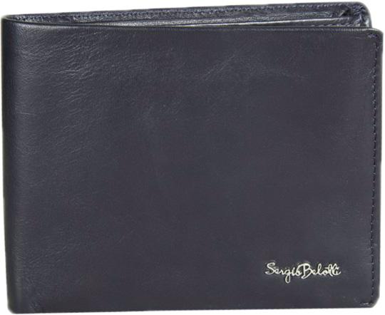Кошельки бумажники и портмоне Sergio Belotti 1775-electro-notte кошельки mano портмоне для авиабилетов