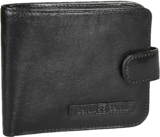 Кошельки бумажники и портмоне Sergio Belotti 1818-ancona-black кошельки бумажники и портмоне mano 20151 franzi black
