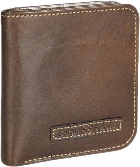 Кошельки бумажники и портмоне Sergio Belotti 1858-ancona-brown кошельки mano портмоне для авиабилетов