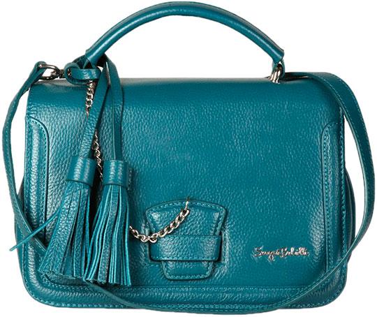 Кожаные сумки Sergio Belotti 206-teal кожаные сумки sergio belotti 206 teal