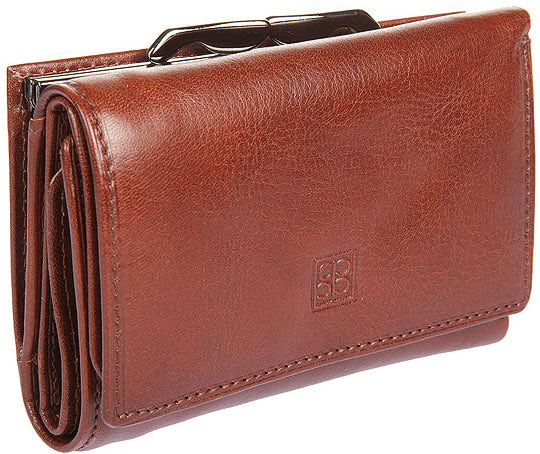 fa6c6f33e7a1 Женский кожаный кошелек Sergio Belotti 2101-milano-brown — купить в ...