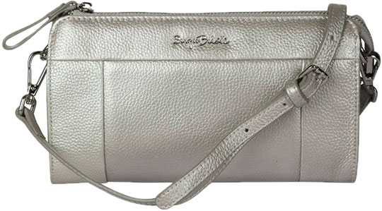 Кожаные сумки Sergio Belotti 22-silver кожаные сумки sergio belotti 206 teal