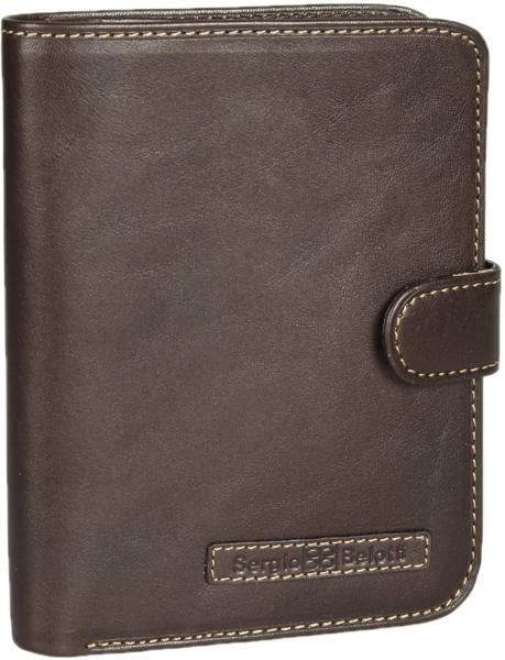 Кошельки бумажники и портмоне Sergio Belotti 2242-ancona-brown кошелек sergio belotti 3528 ancona brown