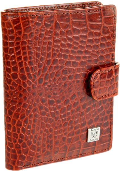 купить Визитницы и кредитницы Sergio Belotti 2252-modena-cognac дешево