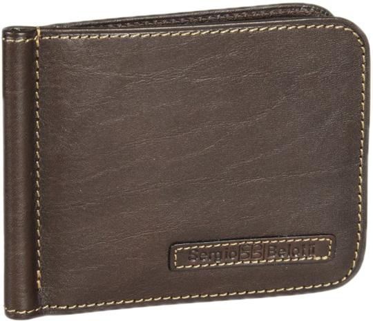 Кошельки бумажники и портмоне Sergio Belotti 2312-ancona-brown кошельки бумажники и портмоне sergio belotti 1563 milano brown