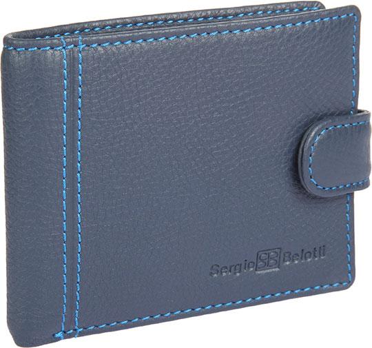 Кошельки бумажники и портмоне Sergio Belotti 2330-indigo-jeans кошельки бумажники и портмоне sergio belotti 1818 ancona brown