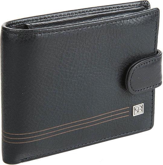 Кошельки бумажники и портмоне Sergio Belotti 2330-west-black