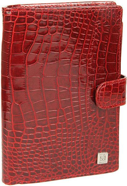 Кошельки бумажники и портмоне Sergio Belotti 2334-modena-red