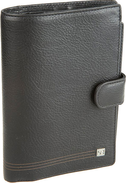 Кошельки бумажники и портмоне Sergio Belotti 2334-west-black business card holder sergio belotti 1440 west black
