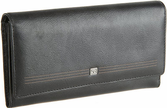 Кошельки бумажники и портмоне Sergio Belotti 2642-west-black business card holder sergio belotti 1440 west black