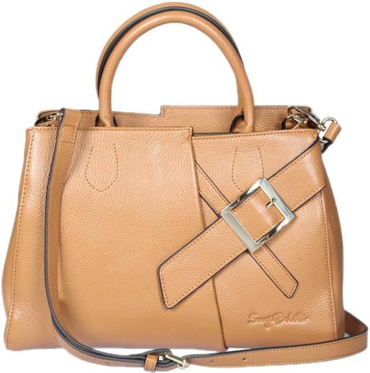 Кожаные сумки Sergio Belotti 271-05-earth-yellow кожаные сумки sergio belotti 9984 20 vegetale navy