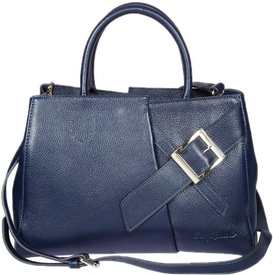 Кожаные сумки Sergio Belotti 271-51-navy