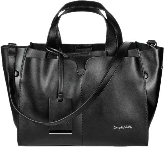 ebd38107f2f3 Женская кожаная сумка Sergio Belotti 28-black — купить в интернет ...