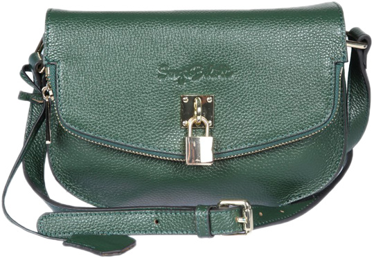 Кожаные сумки Sergio Belotti 287-21-grass-green