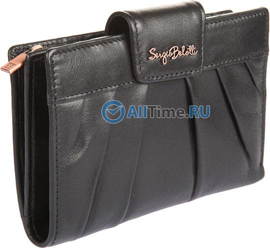 Кошельки бумажники и портмоне Sergio Belotti 2974-fantasy-black