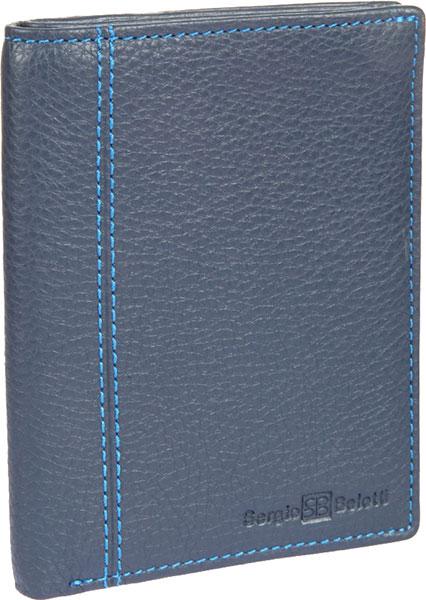 Кошельки бумажники и портмоне Sergio Belotti 3351-indigo-jeans кошельки бумажники и портмоне sergio belotti 3285 indigo jeans