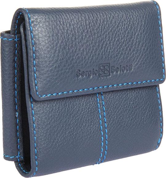 купить Кошельки бумажники и портмоне Sergio Belotti 3410-indigo-jeans по цене 3190 рублей