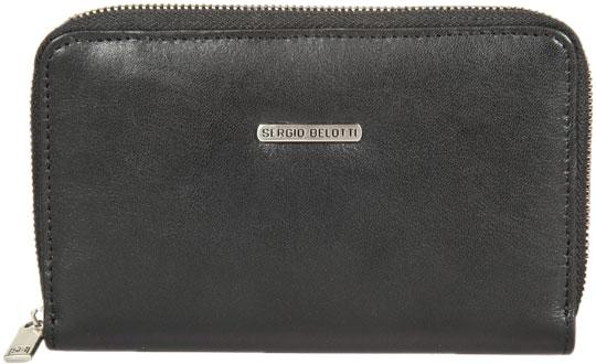 Кошельки бумажники и портмоне Sergio Belotti 3441-BALI-black-bordeaux кошельки бумажники и портмоне sergio belotti 1073 west black